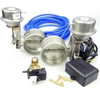 Exhaust Cutout Valve Vacuum controlled