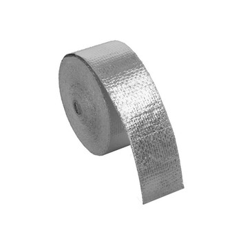 10m heat protection aluminium tape - silver | BOOST products