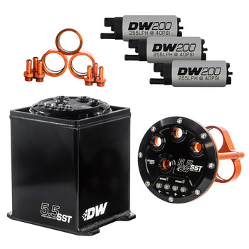 5,5L Staged Surge Tank, includes three DW fuel pumps |...