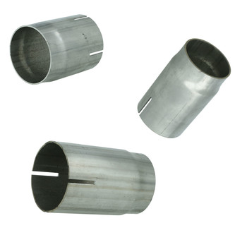 Stainless steel pipe sleeve connector for exhaust tubes...