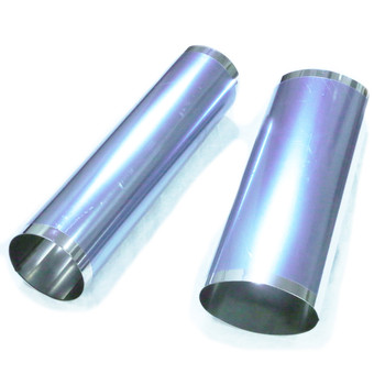 Stainless steel housings for exhaust mufflers