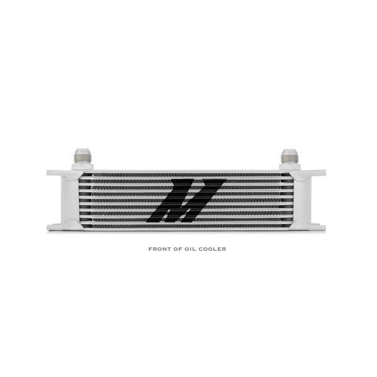 Silver Mishimoto MMOC-19 Universal 19-Row Oil Cooler