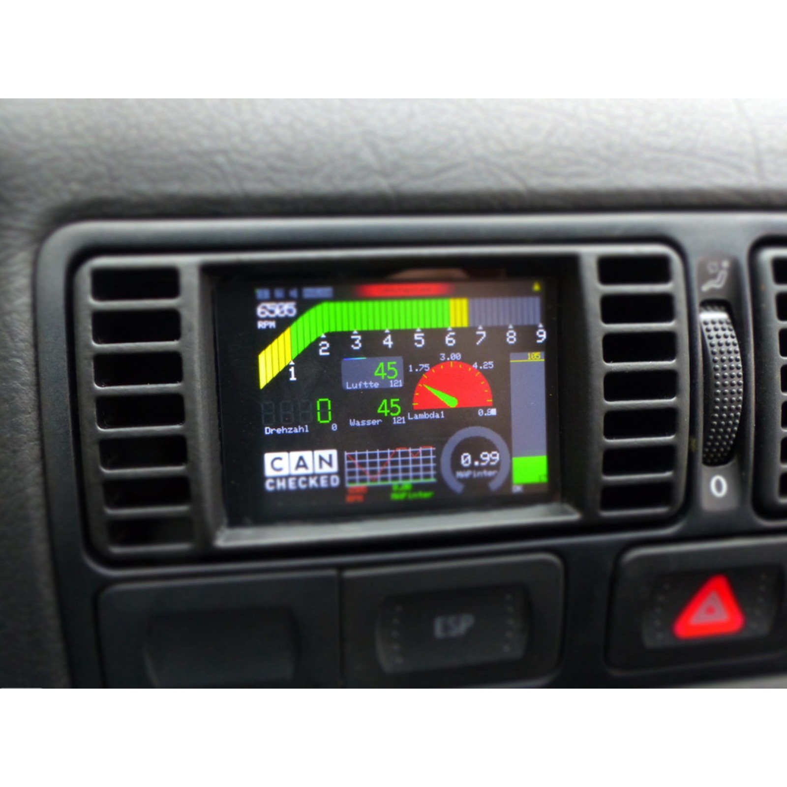 Canchecked Mfd28 2 8 Quot Display Vw Golf Mk4 399 01